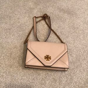 Tory burch pale pink crossbody